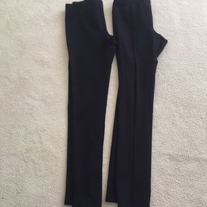 Two Pair Black Leggings Small (Nic and Zoe)